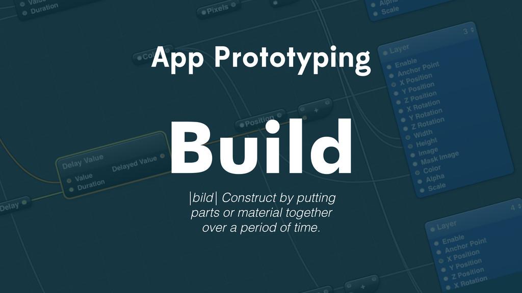 App Prototyping Build |bild| Construct by putti...