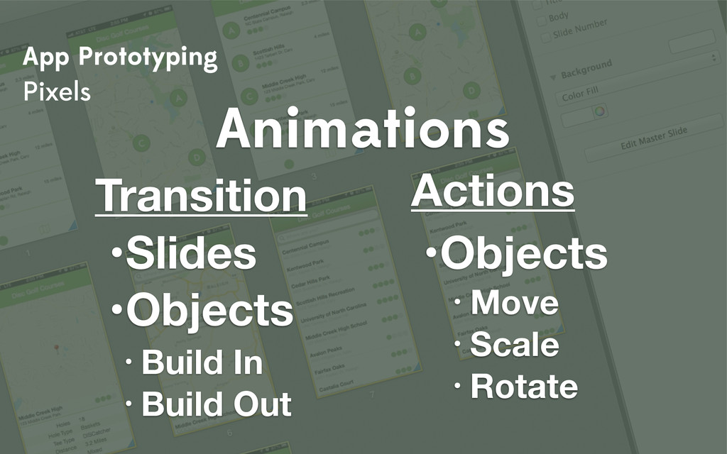 App Prototyping Pixels Animations Transition • ...