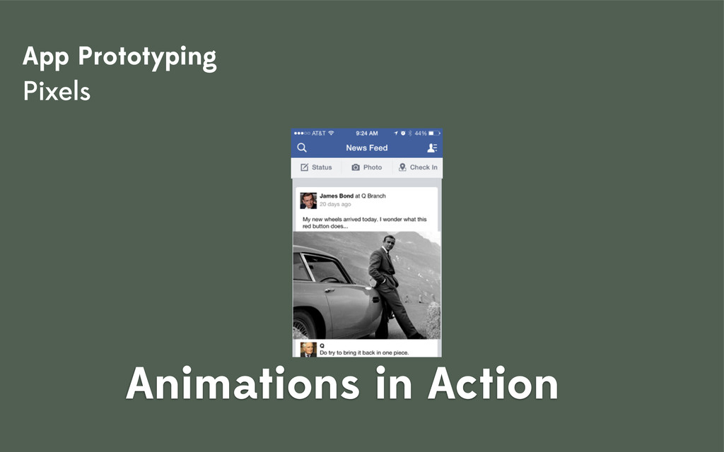 SpyBook UX App Prototyping Pixels Animations in...