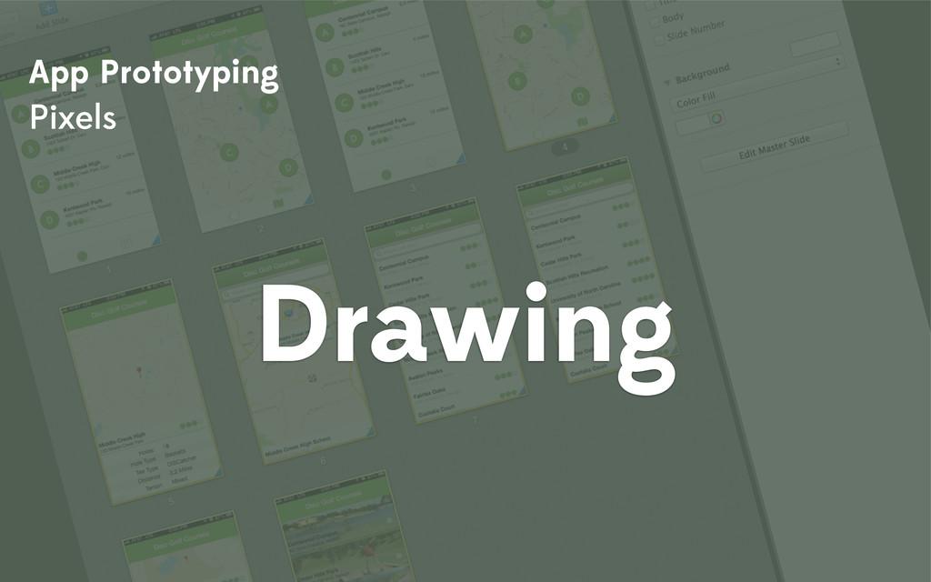 App Prototyping Pixels Drawing