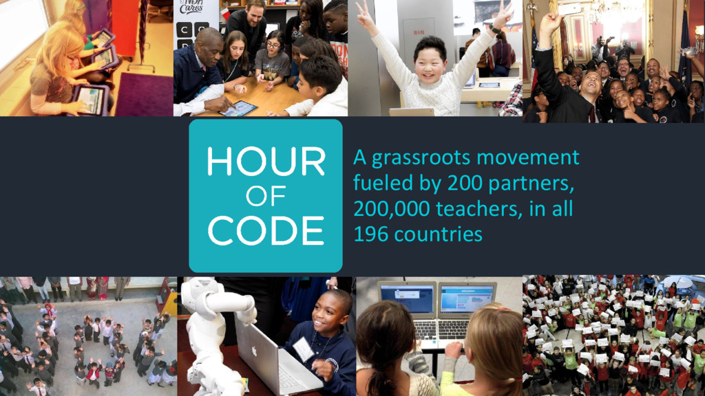 A grassroots movement fueled by 200 partners, 2...