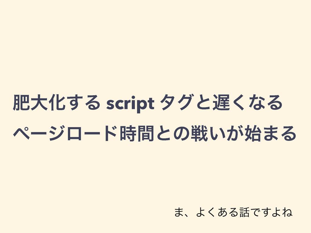 ංେԽ͢Δ script λάͱ͘ͳΔ ϖʔδϩʔυؒͱͷઓ͍͕·Δ ·ɺΑ͋͘ΔͰ͢...