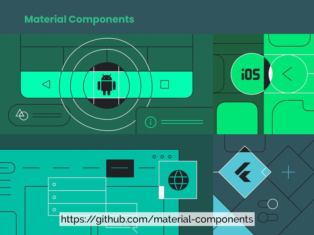 Material Components https:/ /github.com/materia...