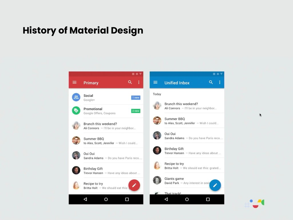 History of Material Design