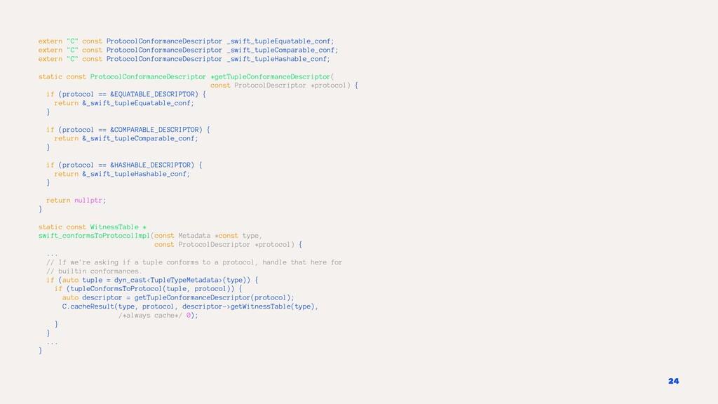 "extern ""C"" const ProtocolConformanceDescriptor ..."