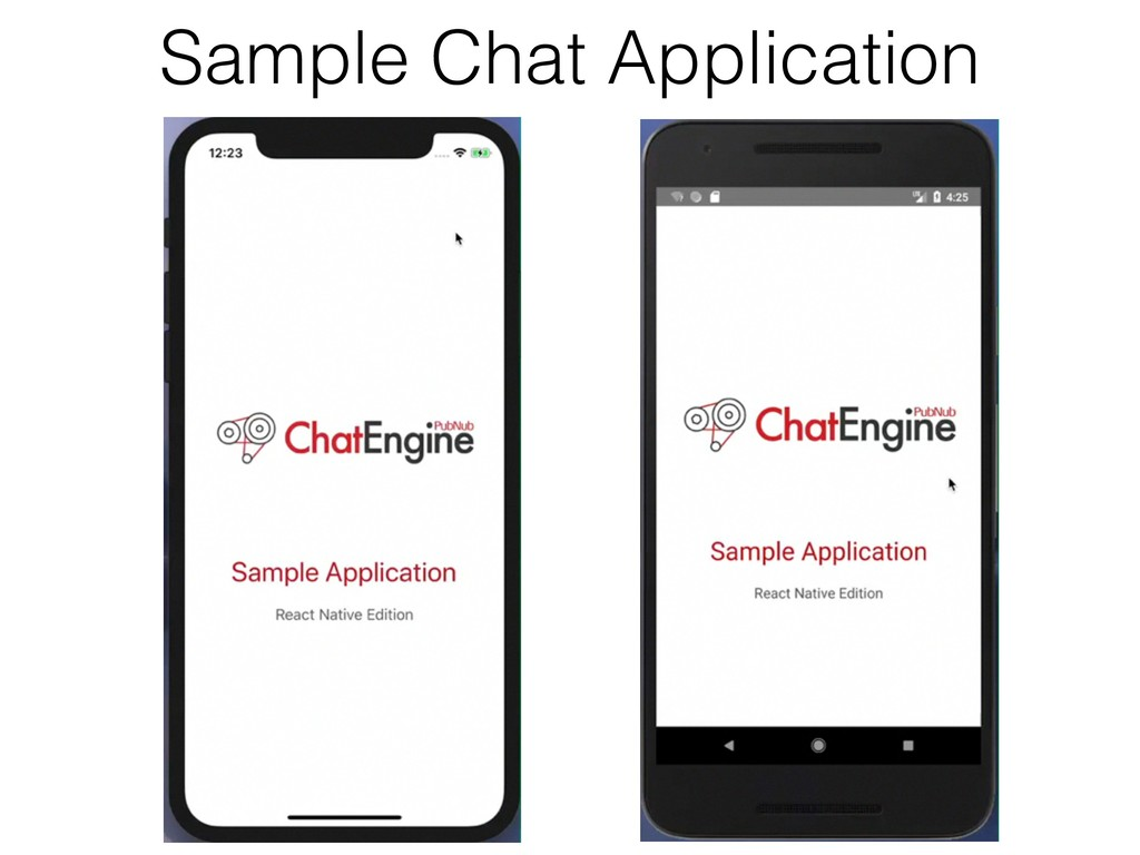 Sample Chat Application