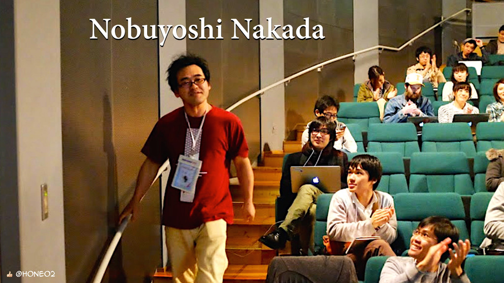 Nobuyoshi Nakada  @hone02