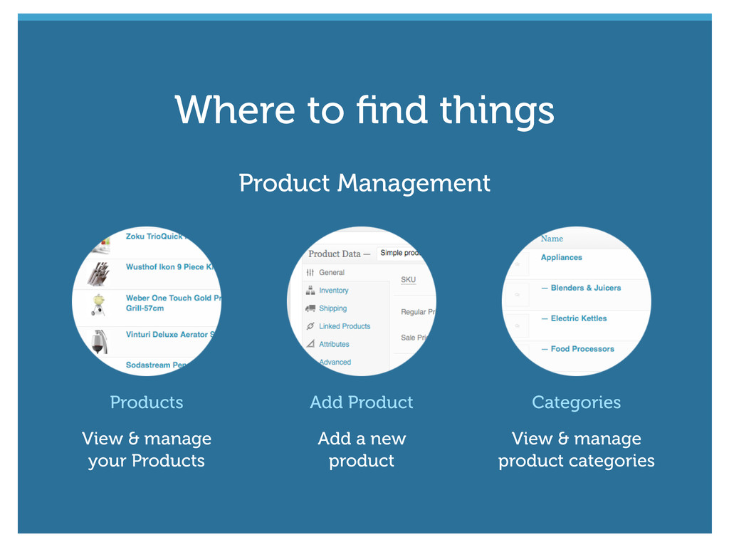 Products View & manage your Products Add Produc...
