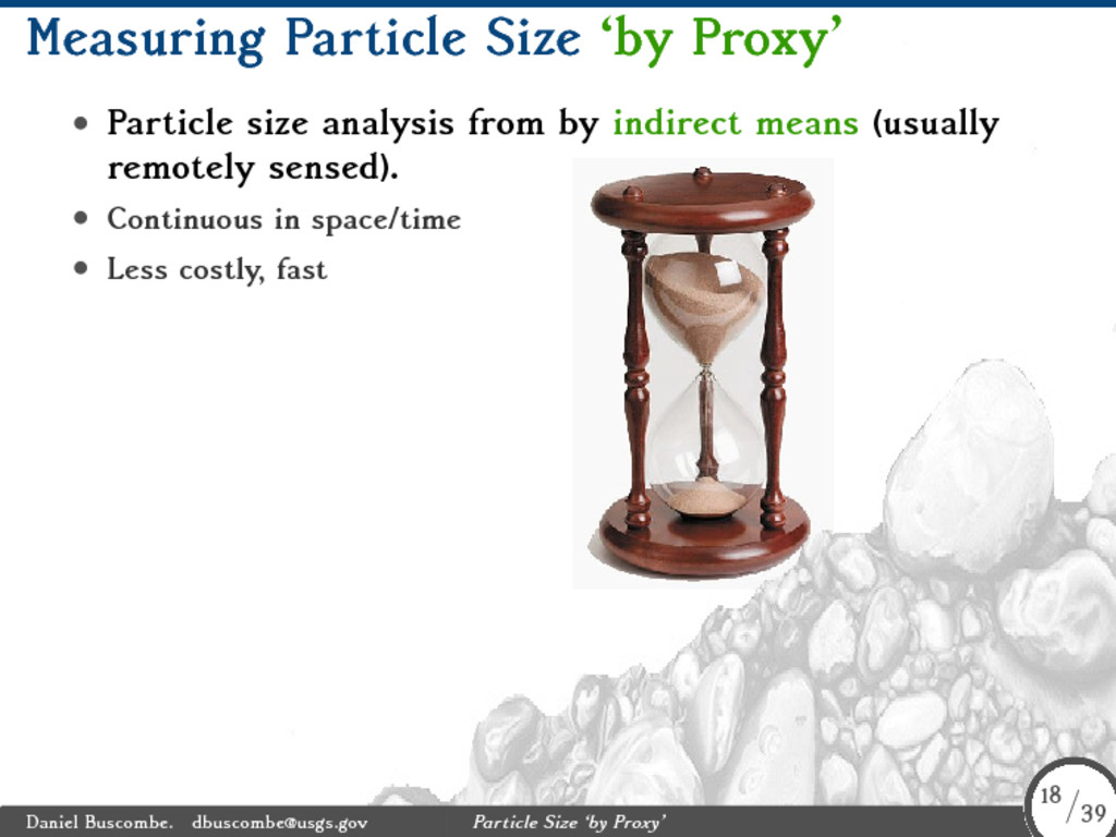 Measuring Particle Size 'by Proxy' • Particle s...