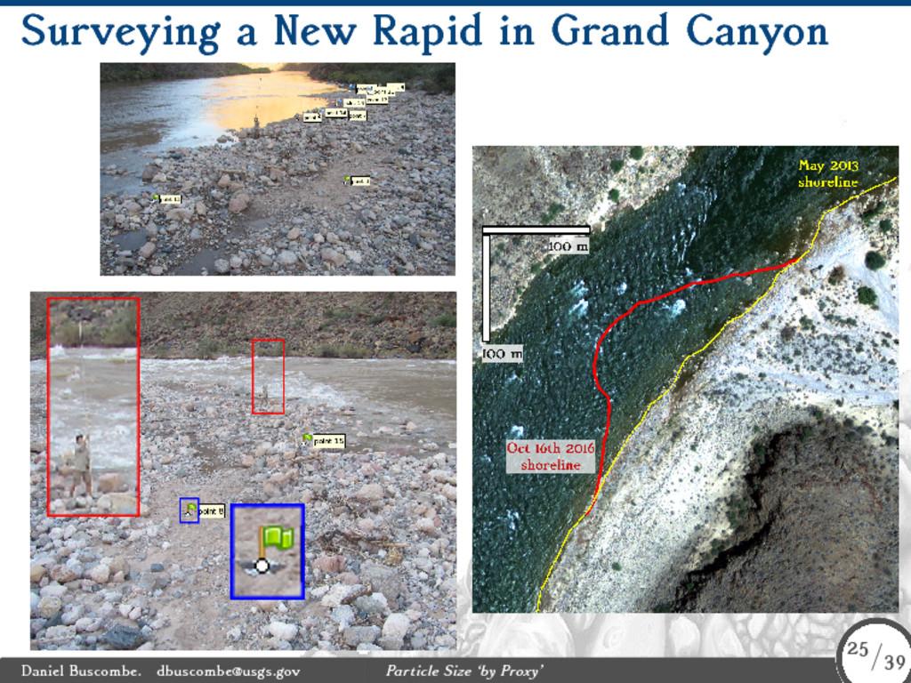 Surveying a New Rapid in Grand Canyon Daniel Bu...