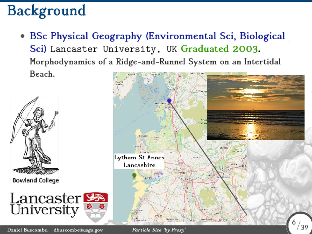 Background • BSc Physical Geography (Environmen...