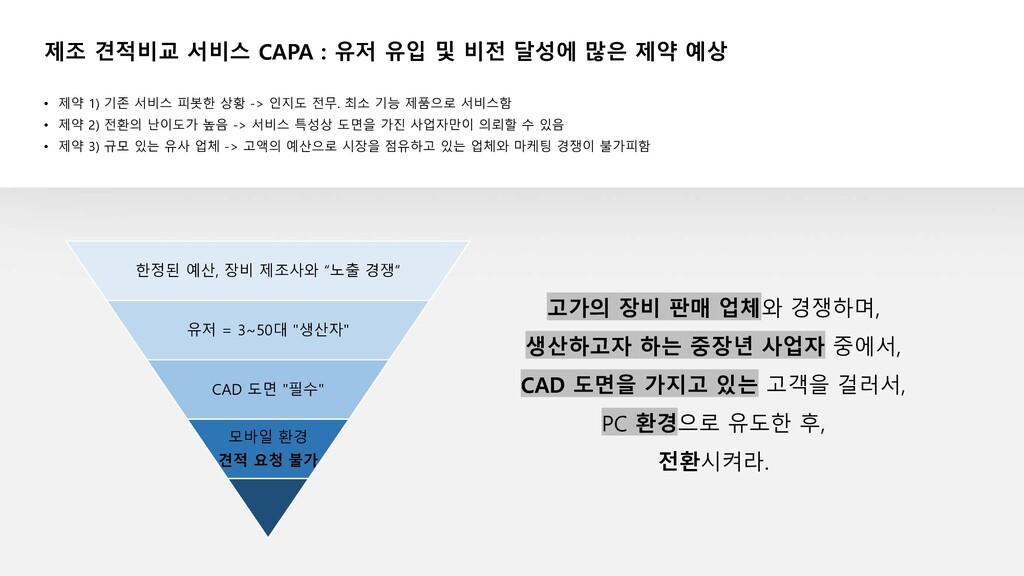 """한정된 예산, 장비 제조사와 """"노출 경쟁"""" 유저 = 3~50대 """"생산자"""" CAD 도면..."""