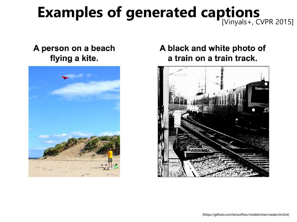 Examples of generated captions [https://github....