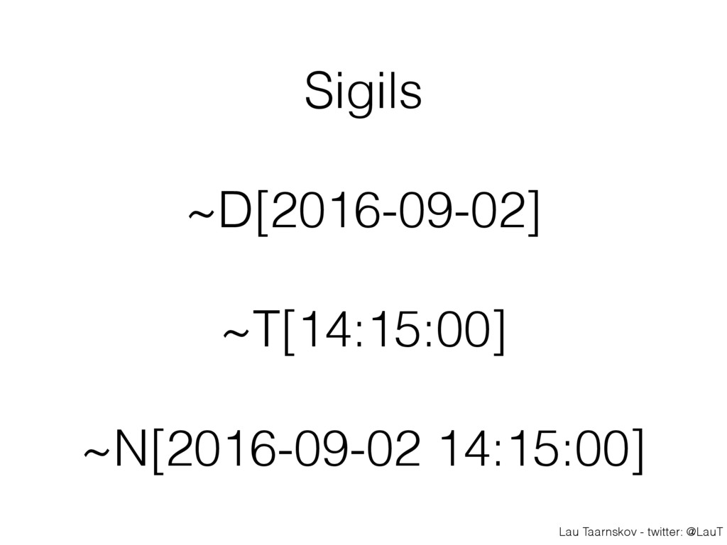 Lau Taarnskov - twitter: @LauT Sigils ~D[2016-0...