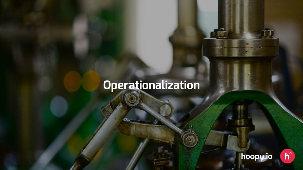 hoopy.io Operationalization