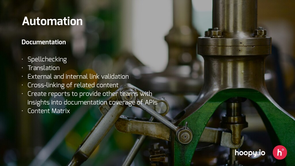 hoopy.io Automation Documentation • Spellchecki...
