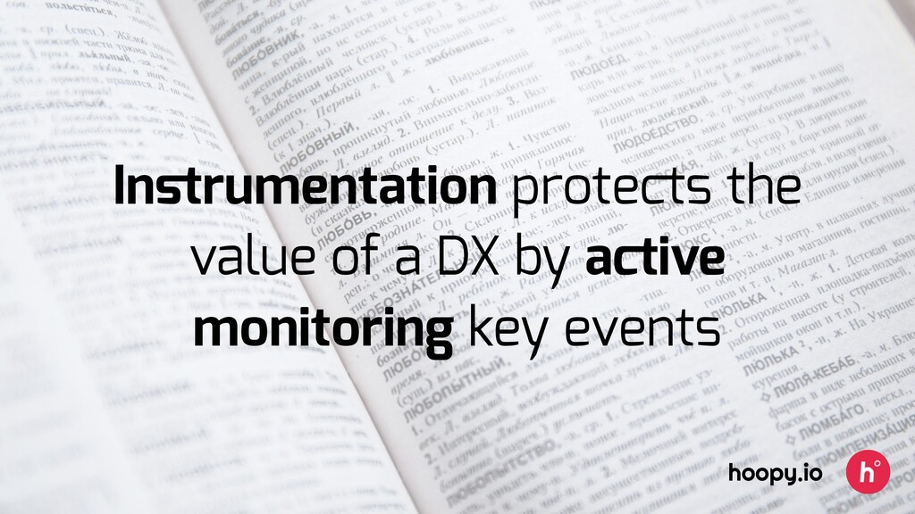 Instrumentation protects the value of a DX by ac...