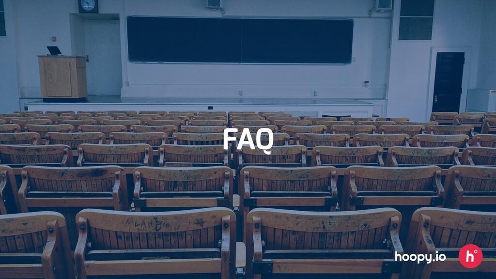 FAQ hoopy.io
