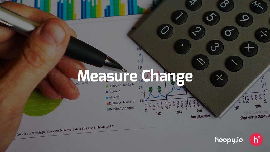 Measure Change hoopy.io