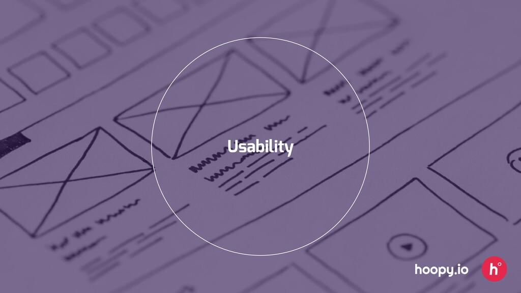 Usability hoopy.io