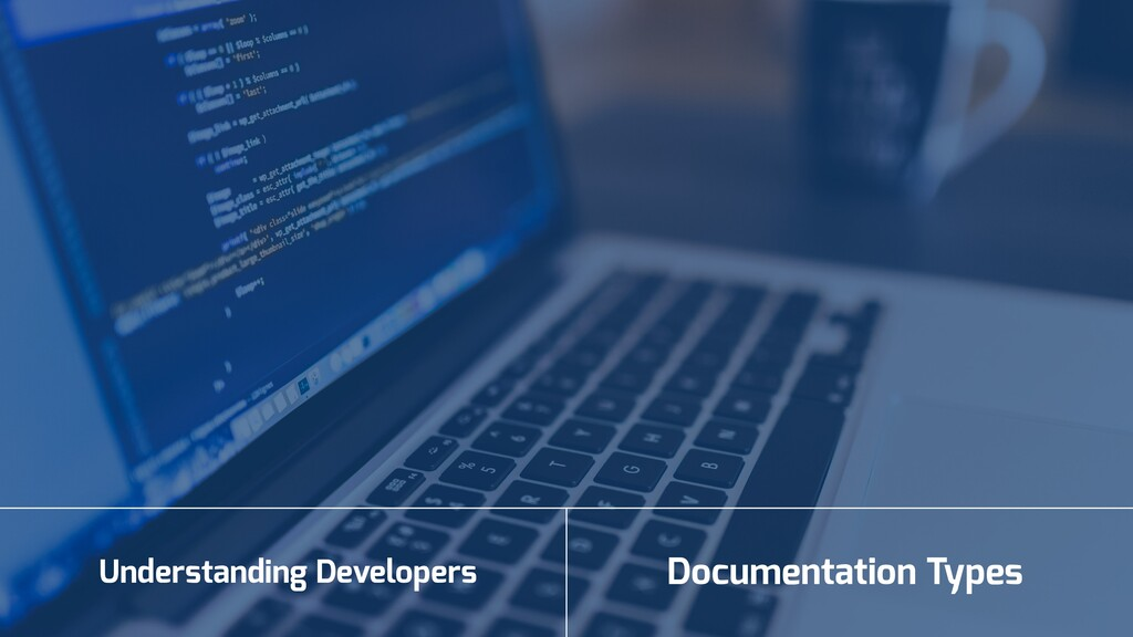 Understanding Developers Documentation Types