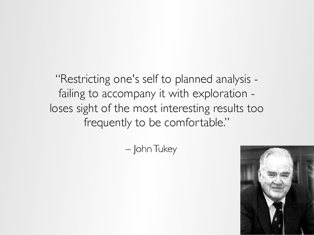"""Restricting one's self to planned analysis - f..."