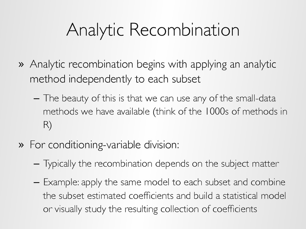 Analytic Recombination »  Analytic recombinatio...