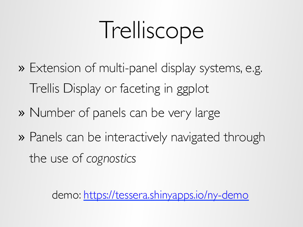 Trelliscope »  Extension of multi-panel display...