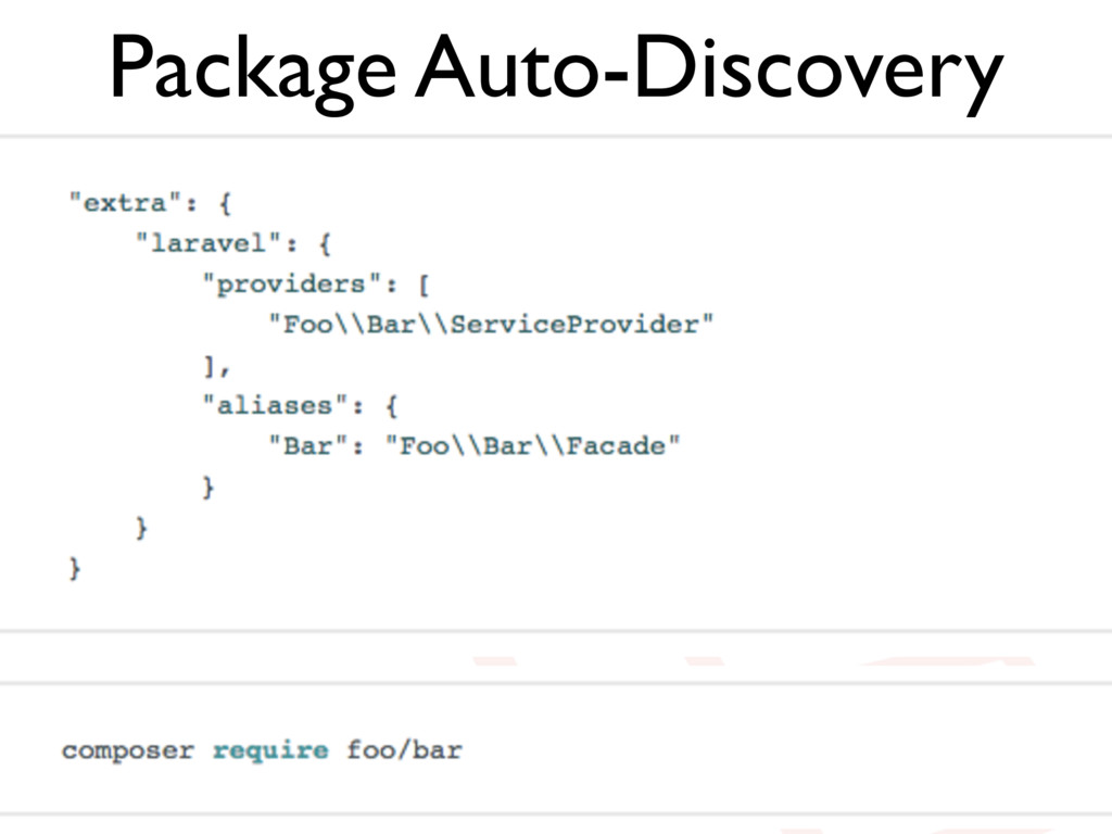 Package Auto-Discovery