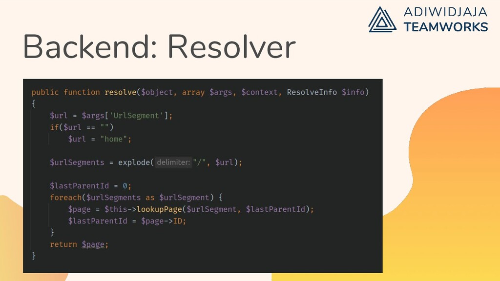 Backend: Resolver
