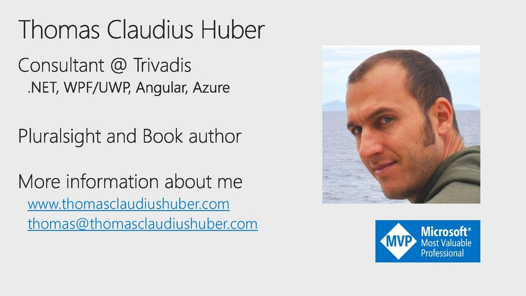 www.thomasclaudiushuber.com thomas@thomasclaudi...