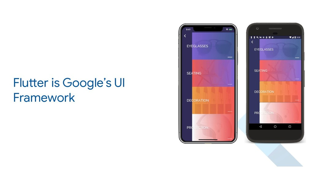 Flutter is Google's UI Framework