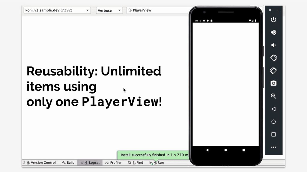 Reusability: Unlimited items using only one Pla...