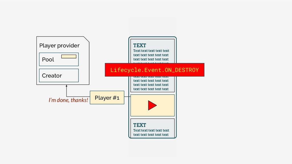 Player provider Pool Creator TEXT Text text tex...