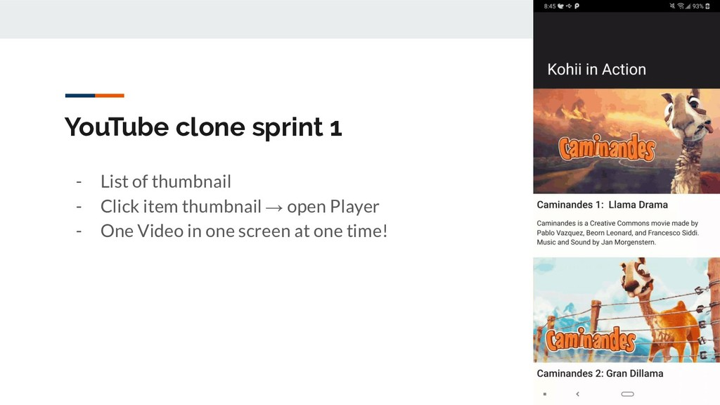 YouTube clone sprint 1 - List of thumbnail - Cl...