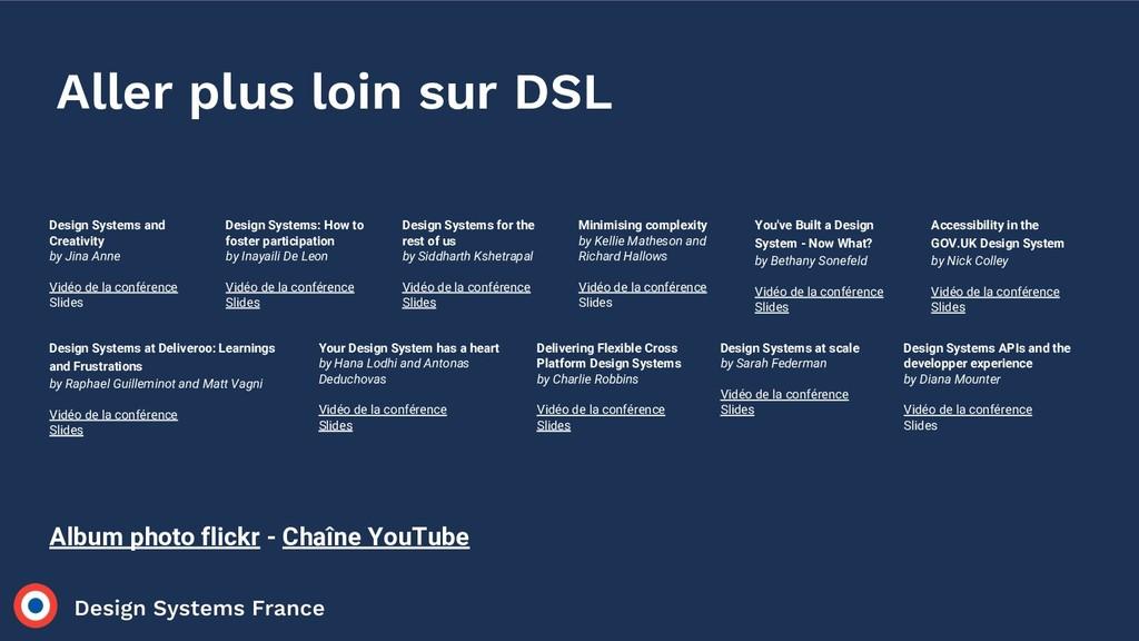 Aller plus loin sur DSL Design Systems and Crea...