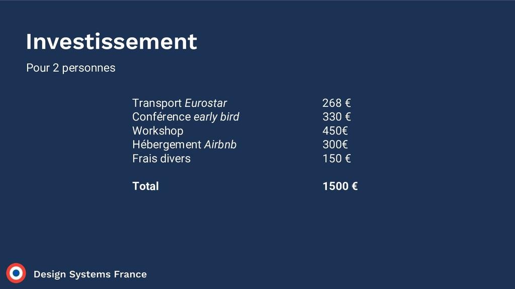 Transport Eurostar Conférence early bird Worksh...