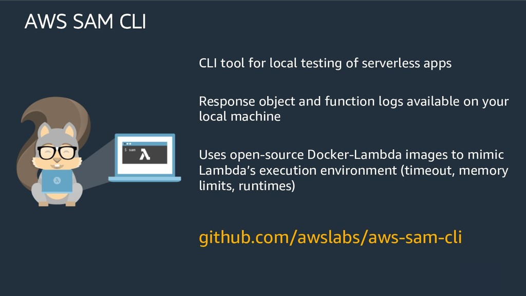 github.com/awslabs/aws-sam-cli AWS SAM CLI CLI ...