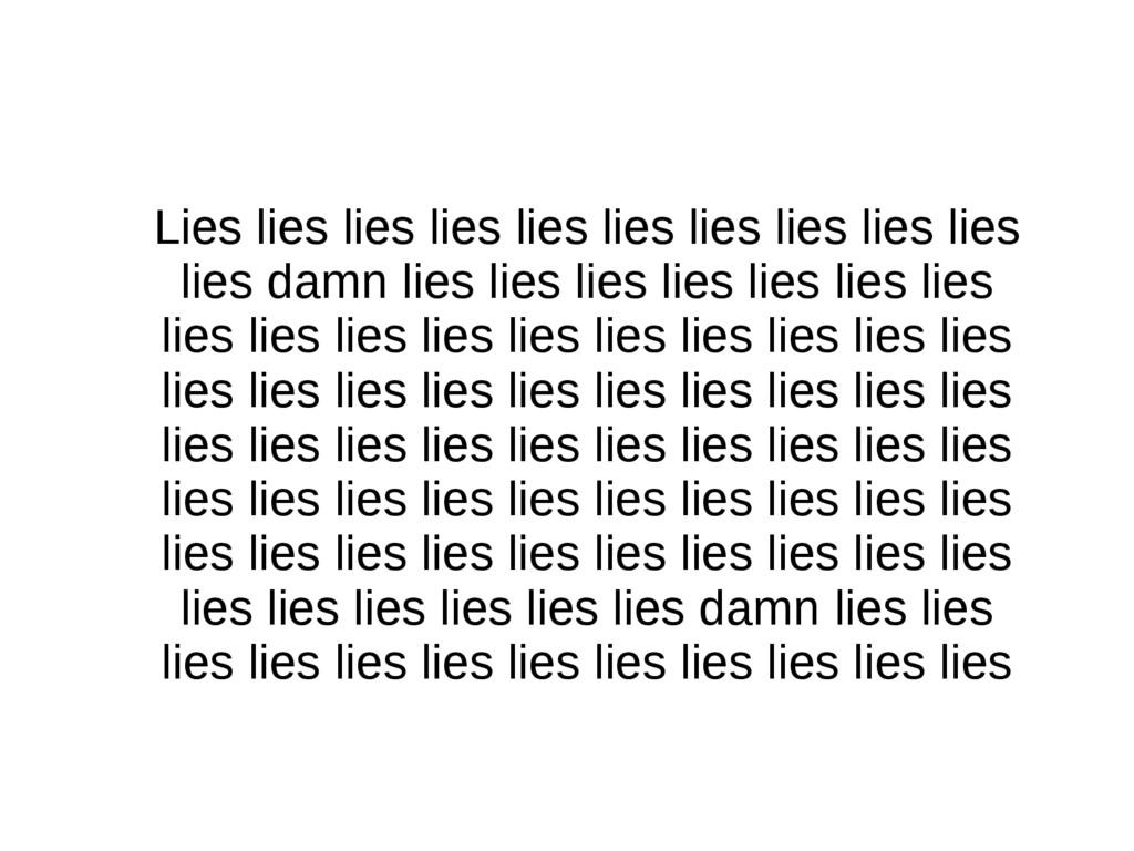 Lies lies lies lies lies lies lies lies lies li...
