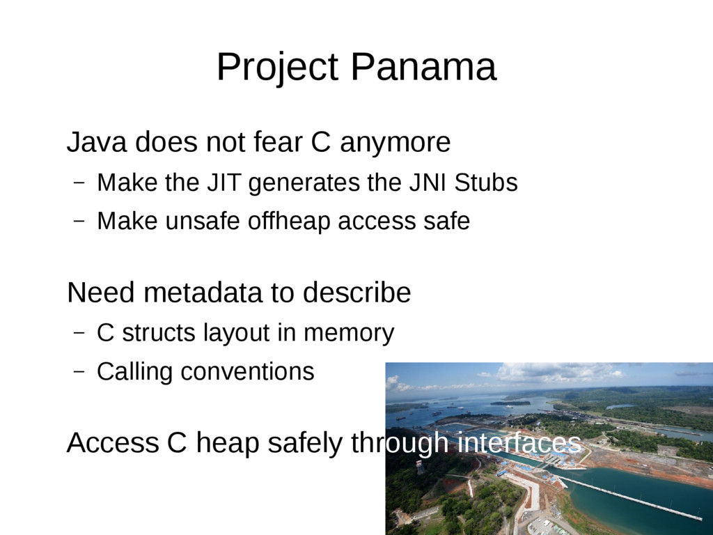 Project Panama Java does not fear C anymore – M...