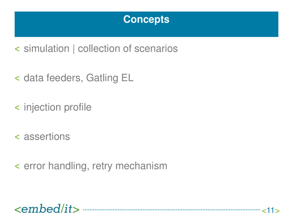 Concepts ˂ simulation | collection of scenarios...