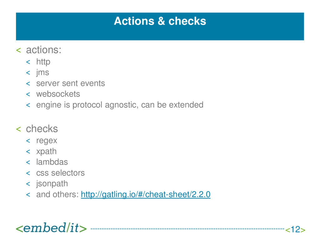 Actions & checks ˂ actions: ˂ http ˂ jms ˂ serv...