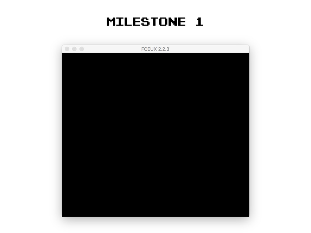 Milestone 1