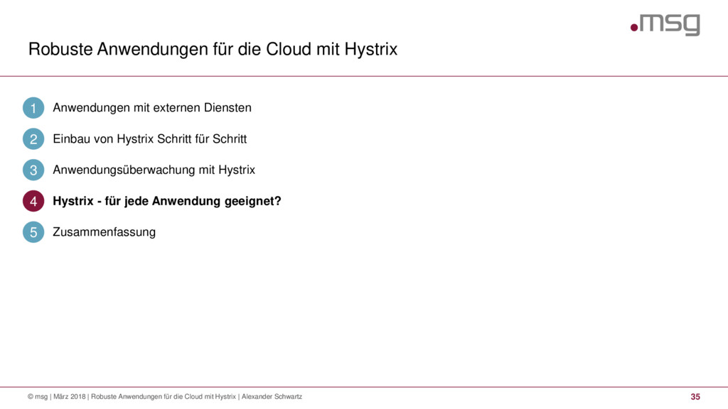 Robuste Anwendungen für die Cloud mit Hystrix 3...