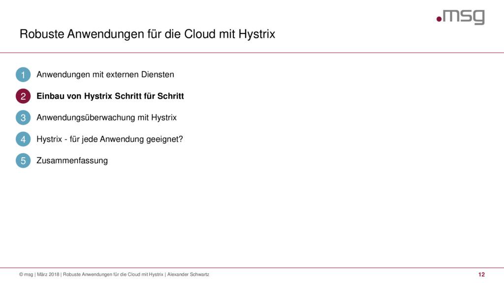 Robuste Anwendungen für die Cloud mit Hystrix 1...