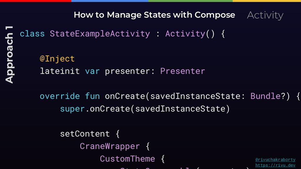 Activity How to Manage States with Compose Appr...