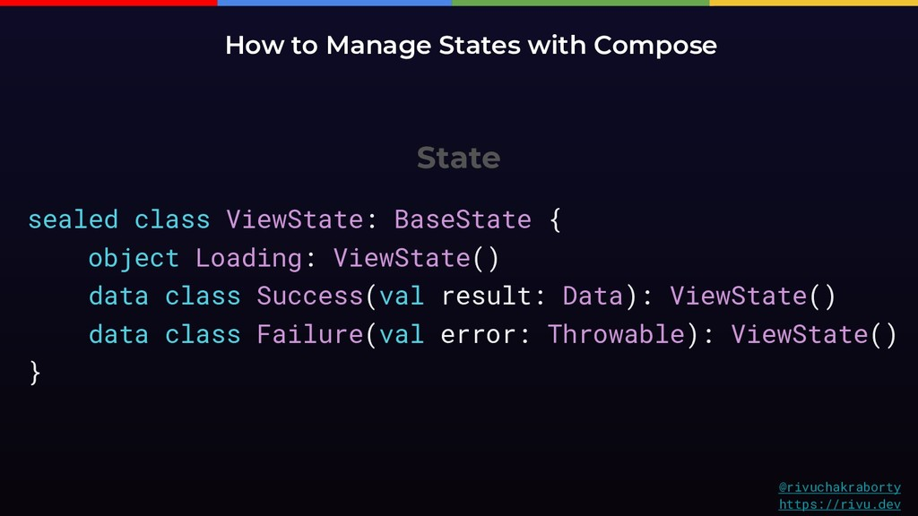 State How to Manage States with Compose @rivuch...
