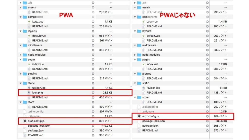 PWA PWAじゃない