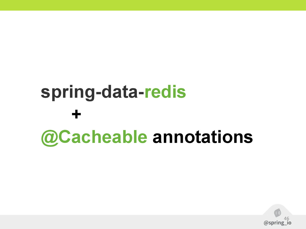 46 spring-data-redis + @Cacheable annotations