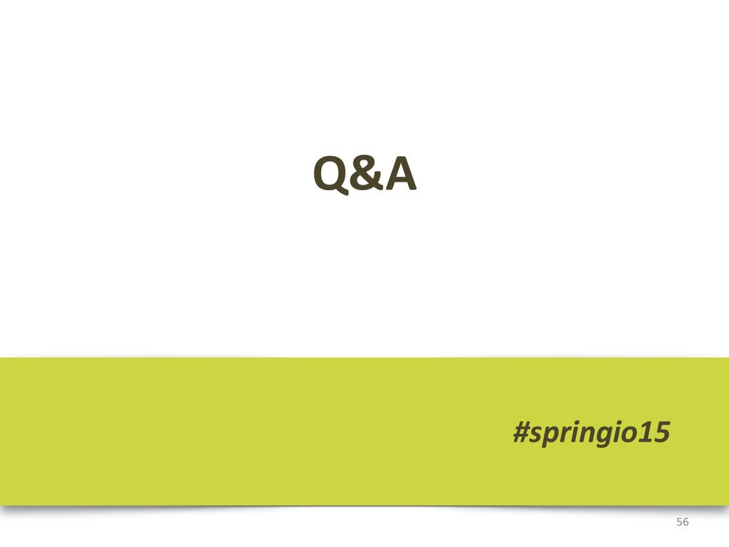 Q&A 56 #springio15